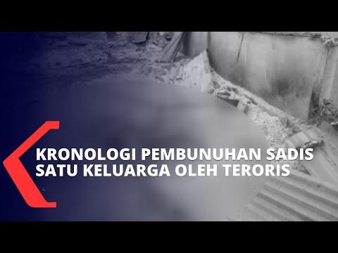 polisi jelaskan kronologi pembunuhan sadis satu keluarga oleh kelompok teroris