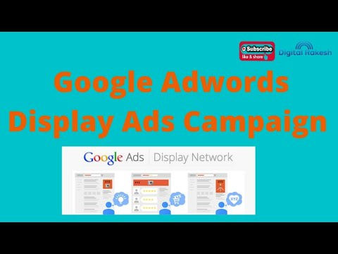google adwords display ads campaign