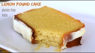 Lemon Pound Cake | Keto Recipes | Gluten Free | Low Carb