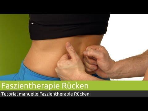 Umfassende Behandlung von zervikothorakalen Osteochondrose