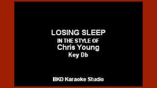 Chris Young - Losing Sleep (Karaoke Version)