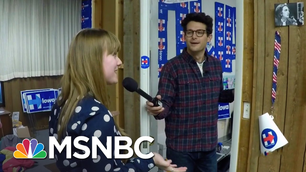 Hillary Clinton's Campaign: The Art Of The Door Knock   MSNBC thumbnail