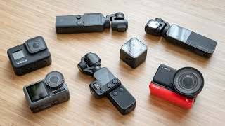 Best Action Cameras 2020 - GoPro, Osmo Pocket, One R & More