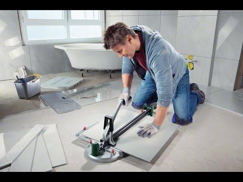 Tutorial: Fliesenschneider PTC 470 und PTC 640 von Bosch