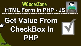 How to get value from checkbox in php - English Tutorial
