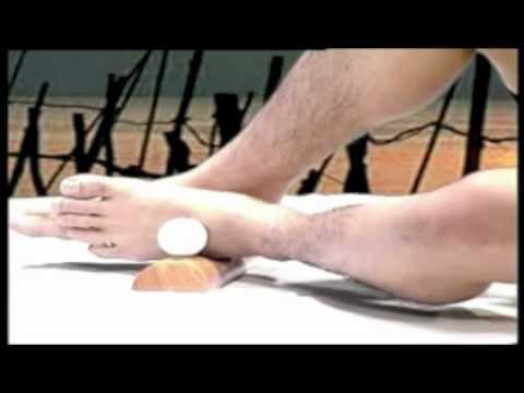 สร้างขึ้นระหว่างนิ้วเท้าเจ็บ