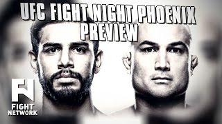 UFC Fight Night Phoenix: Rodriguez vs. Penn & Moraga vs. Pettis Preview