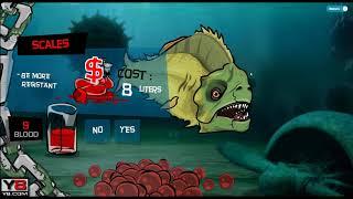 Злая рыбка Tasty Blue #1