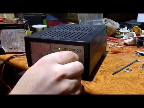 Ремонт зарядного устройства, НПП Орион