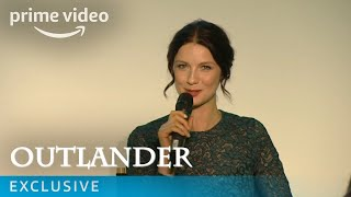Outlander - UK Premiere Q&A with Caitriona Balfe, Sam Heughan & Ron Moore | Prime Video