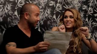 Miley apprend Party In The USA en brésilien