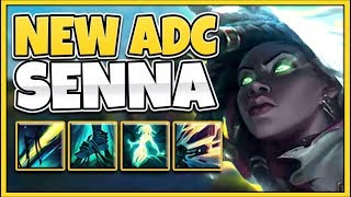 WTF?!? NEW CHAMPION SENNA IS 100% BEYOND OP! (RIOT MESSED UP) - League of Legends