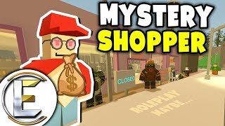 Mystery Shopper - Unturned Roleplay (Give Away A Lamborghini And Spend $40,000 In Shops)