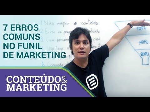 Os 7 erros mais comuns ao se trabalhar com o funil de marketing