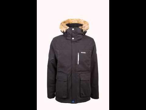 mazine jackets men pavement vancouver winter parka schwarz