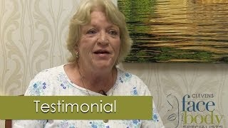Neck lift Patient Testimonial, Clevens Face and Body Specialists