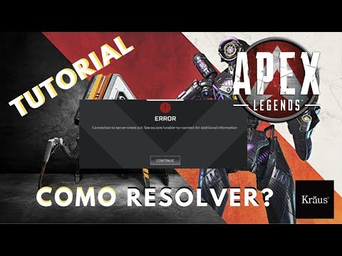 Como Resolver Erro - Apex Legends