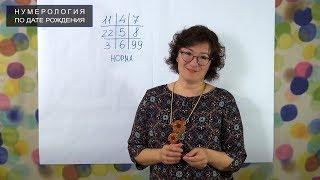 Нумерология по дате рождения онлайн. Школа Анастасии Даниловой.