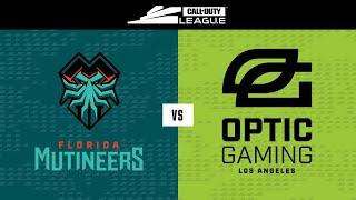 Group Stage | Florida Mutineers vs OpTic Gaming LA | London Royal Ravens Home Series | Day 1