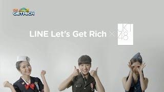 LINE Let's Get Rich x JKT48 with Veranda, Haruka, Melody