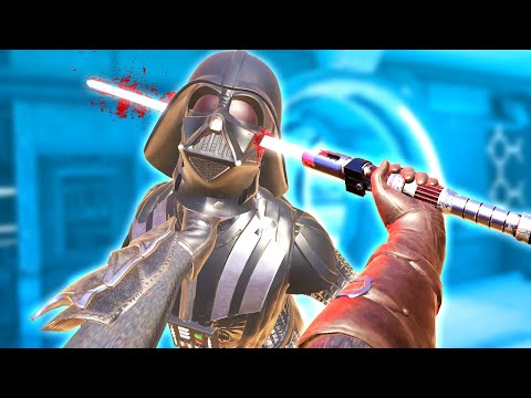 DEADLY LIGHTSABER BATTLE WITH ACTUAL DARTH VADER in Blades and Sorcery VR Mods
