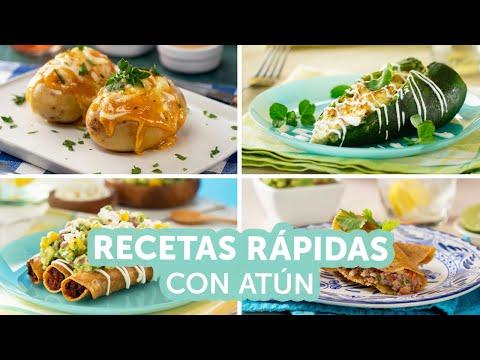 4 Prácticas y Deliciosas Recetas Mexicanas Hechas Con Atún