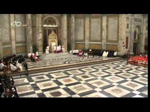 Vêpres - Fête de la Conversion de Saint Paul