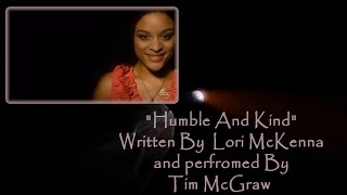 """Tim McGraw """"Humble and Kind"""" Live from the CMA Awards 2016 With Lyrics"""