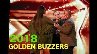 Britain's Got Talent 2018 All Golden Buzzer Acts