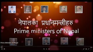 Prime Ministers of Nepal