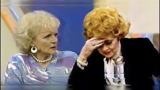 You Dont Buzz A Legend - Betty White Defends Her Friend Lucille Ball