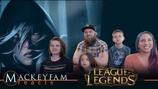 Legends Never Die (ft. Against The Current) | Worlds 2017 - League of Legends- REACTION!!!