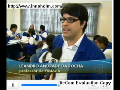 """Professor Leandro Andrade da Rocha no """"Jornal Hoje"""" do dia 05.06.09"""