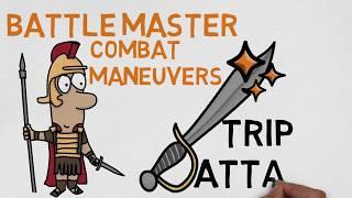 Battle Master Maneuver #16: Trip Attack (5e)