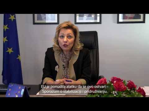 Video poruka  Natalije (Nataliya) Apostolove povodom Dana Evrope 2017
