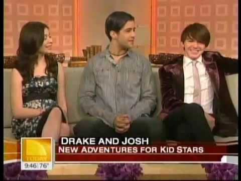 Miranda, Drake, And Josh on Today's Show (видео)