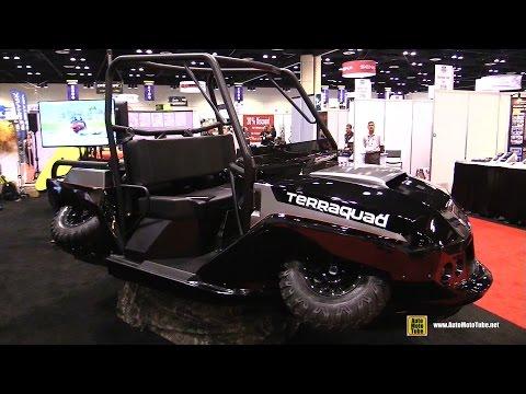 2016 Gibbs TerraQuad Amphibia Vehicle – Walkaround – 2015 AIMExpo Orlando