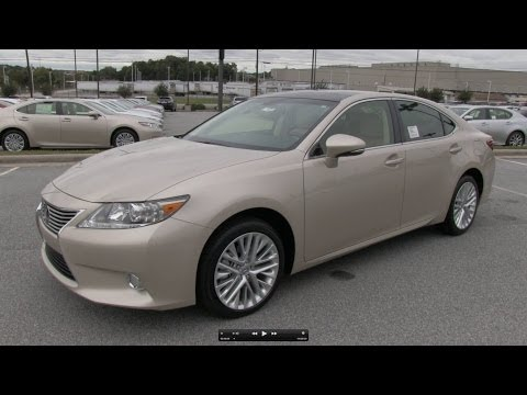 2013/2014 Lexus ES350 Ultra Luxury Start Up, Exhaust, and In Depth Review