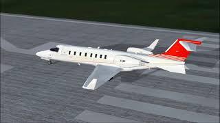 Accidente Juan Camilo Mouriño - Learjet 45 XC-VMC (Reconstrucción)