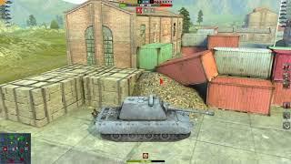 E100 5.5K DMG 1 Kills | World of Tanks Blitz | ALN007