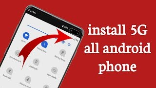 How to install 5G all android phone