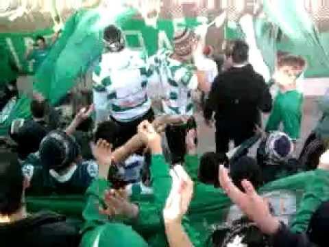 """""""verde vos sos mi vida - la banda de atras del canal"""" Barra: La Banda de Atrás del Canal • Club: Pacífico"""