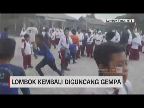 Lombok Kembali Diguncang Gempa