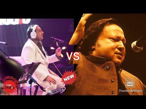 Afreen Afreen song/Rahat Fateh Ali Khan vs Nusrat Fateh Ali Khan