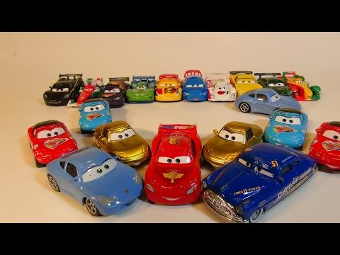 PIXAR CARS 1 DOC HUDSON HORNET AND SALLY COLLECTION FROM CARS CHARACTER ENCYCLOPEDIA PART 3
