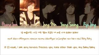 SS501 – Love Like This (네게로) (Han/Rom/Eng) Color Coded Lyrics