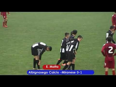 Preview video Albignasego Calcio - Miranese 1-2 (02.12.2018)