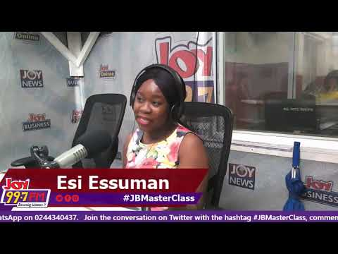 #JBMasterClass on Joy FM (24-10-18)