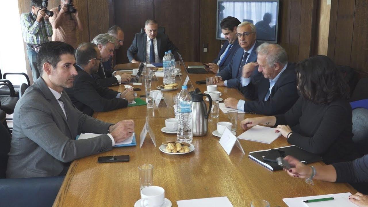 Συνεδρίαση της διακομματικής για την ψηφο των αποδήμων