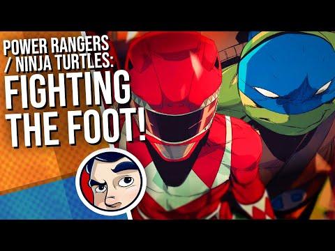 "Power Rangers / TMNT ""Green Rangers True Purpose…"" – Complete Story | Comicstorian"